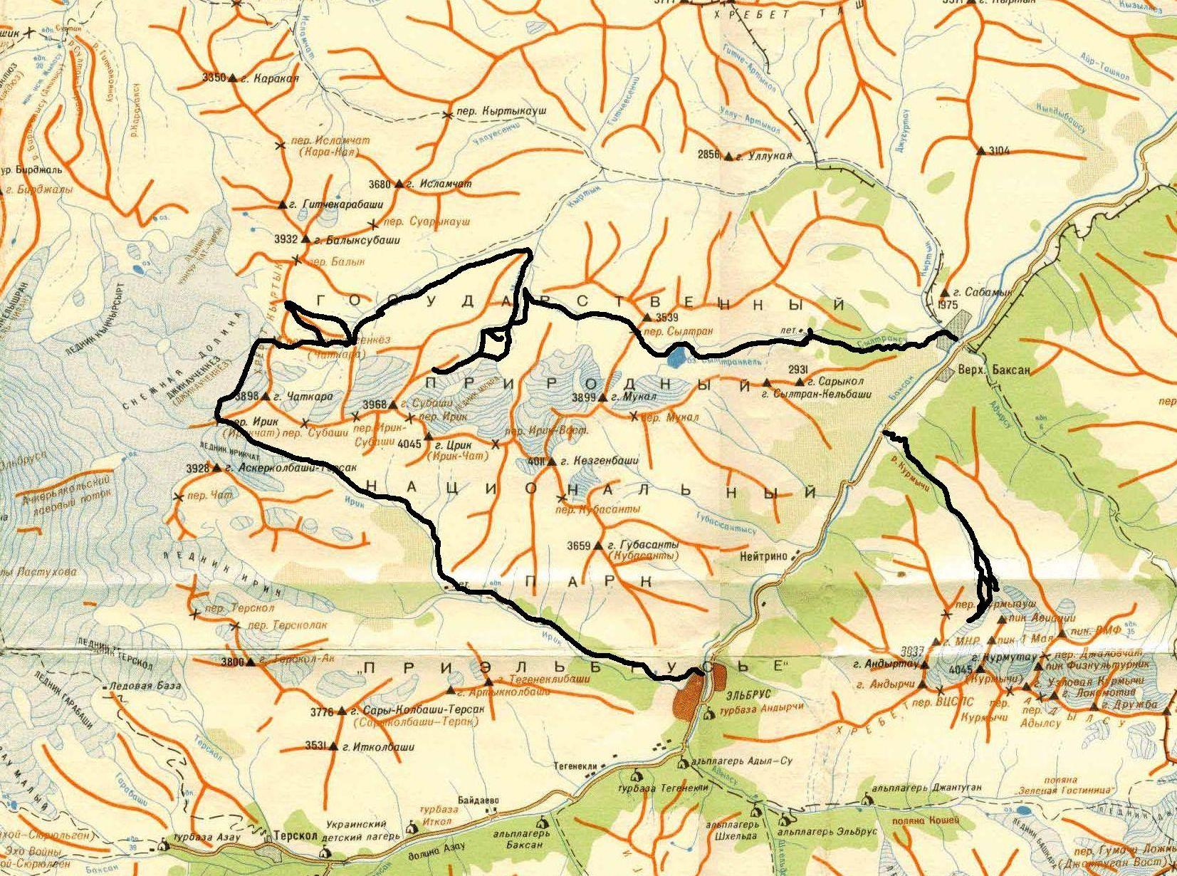 Отчет о горном туристском путешествии по Центральному ...: http://www.trumanoutdoor.ru/prielbrus2006.html